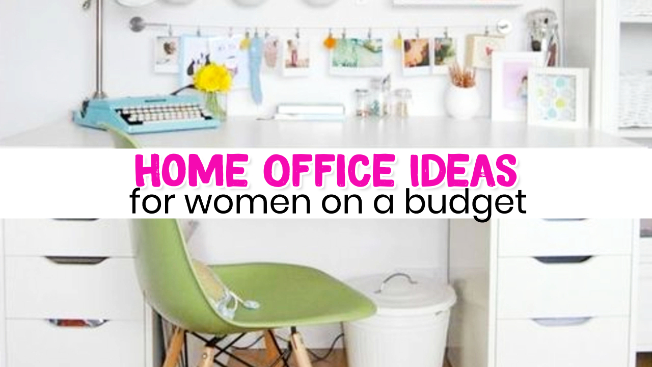 home office ideas on a budget for women - small home office ideas