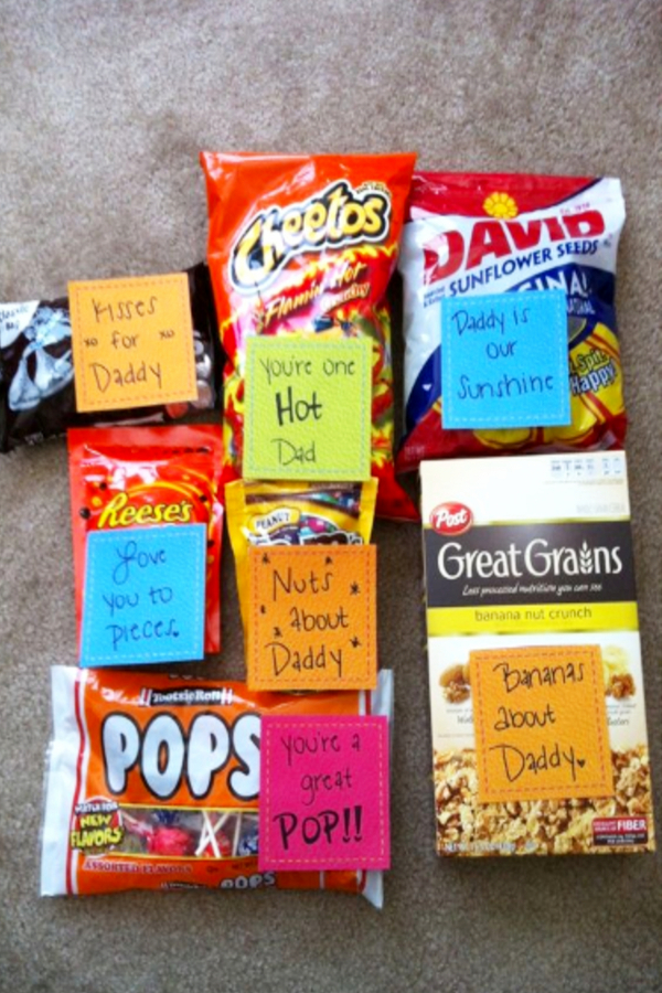Father's Day gift basket ideas to make - DIY Fathers Day Gifts From Kids - Quick and Easy Father's Day crafts and gift ideas