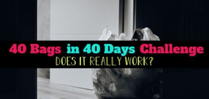Declutter Your Home Challenge: 40 Bags in 40 Days – Does This Decluttering Challenge WORK?