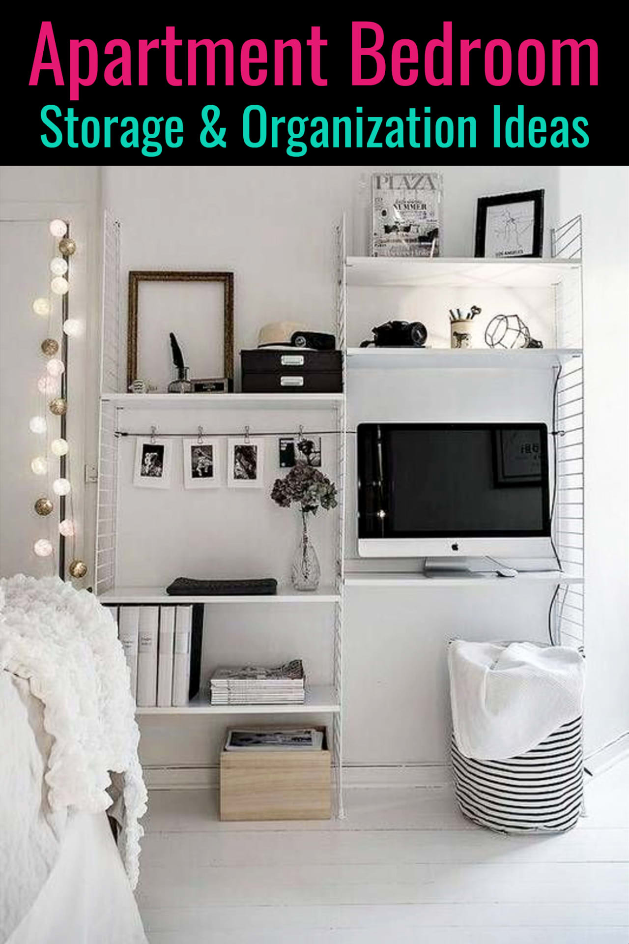 small bedroom and apartment bedroom storage ideas