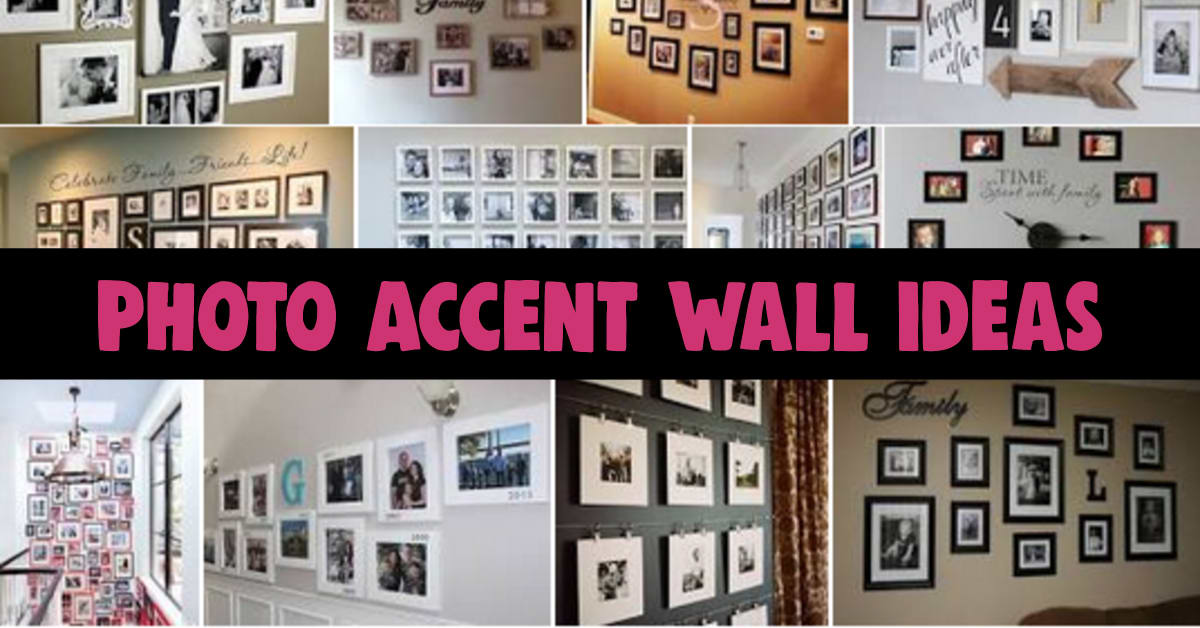 Photo Wall Ideas - Picture Wall Ideas - Gallery Wall Ideas