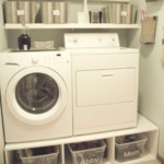 Get More Space in a Small Laundry Room