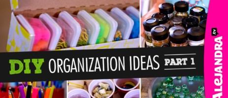 Getting Organized – 50+ Easy Ways To Get Organized at Home and STAY Organized