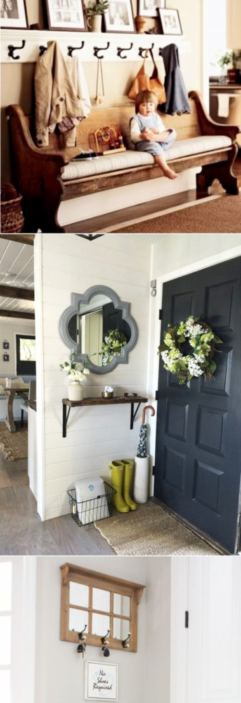 Small Foyer Decorating Ideas - Small apartment entryway ideas - how to decorate a very small entrance hall
