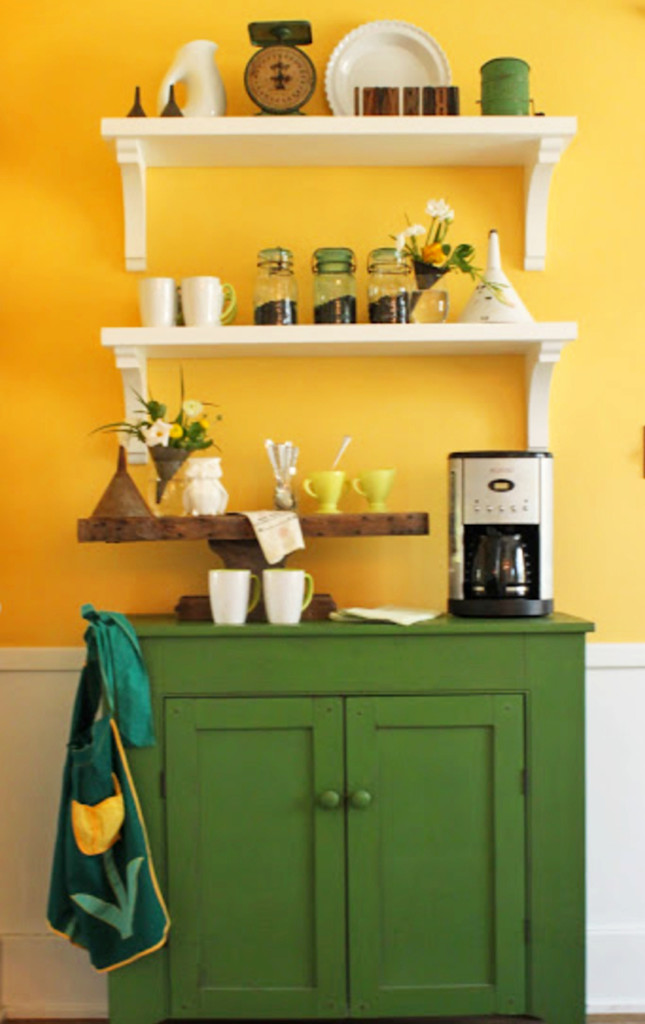 coffee area cabinet in my kitchen - love it!
