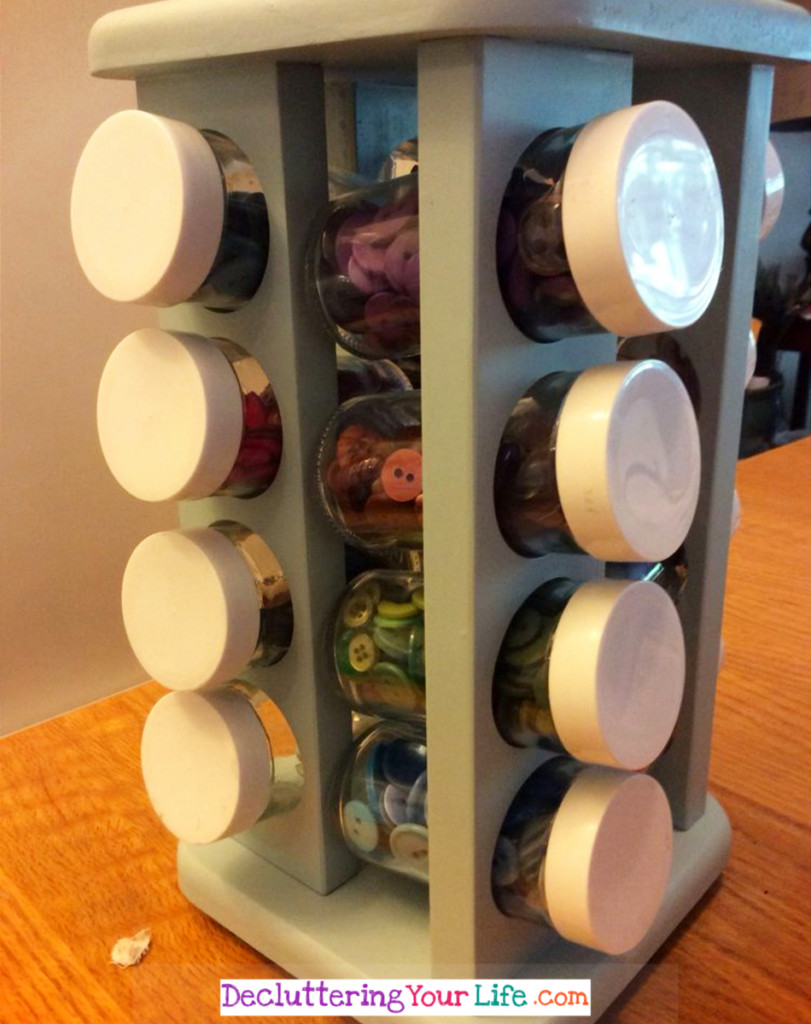 Craft Supplies Storage Ideas Using Unexpected Items from Around Your House - Craft Room Organizing Ideas #gettingorganized #goals #organizationideasforthehome