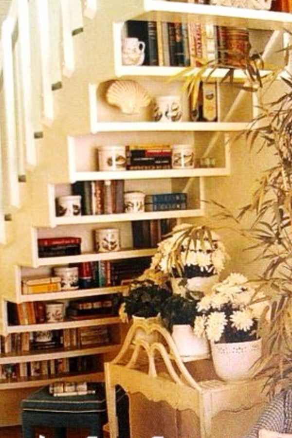 Under stair storage ideas - shelves under stairs for more storage spaces