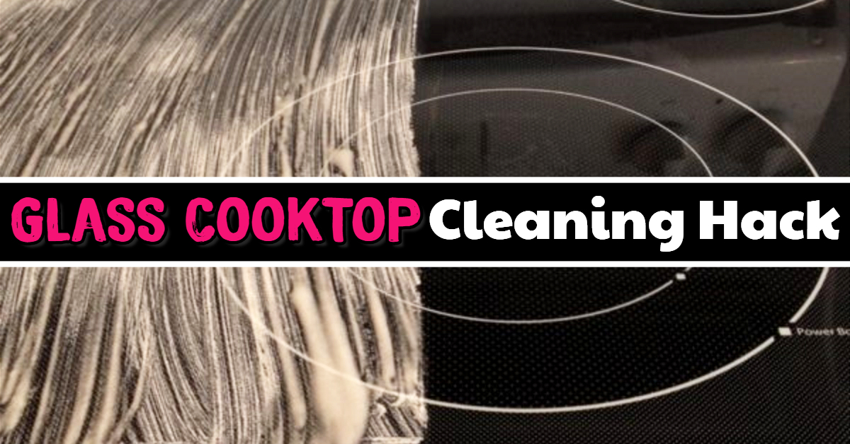 How To Clean Black Glass Stove Top the EASY way