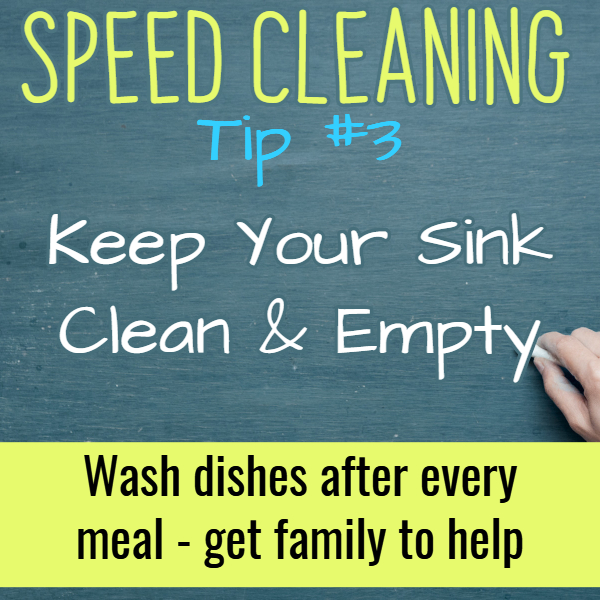 Quick cleaning tips for a quick clean house. Speed cleaning hacks, checklists and tips to clean house fast (even if you're speed cleaning for company)