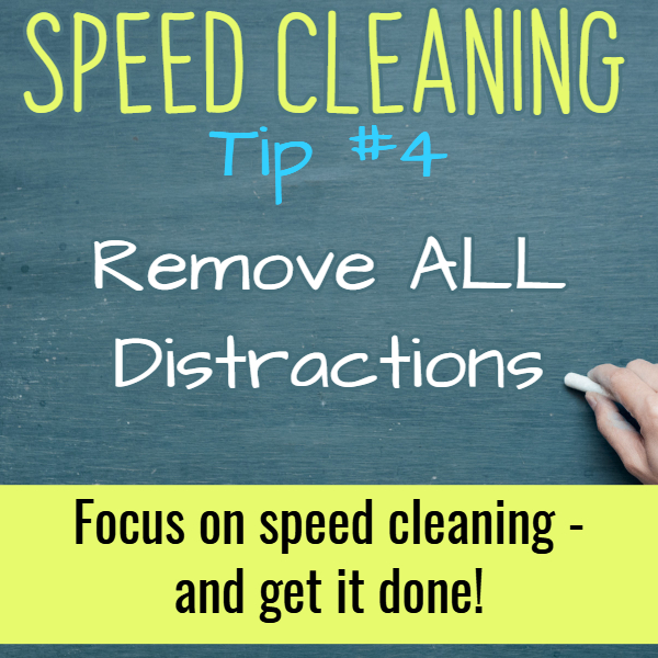 How To Clean a House Like a Pro - These speed cleaning tips show how to professionally clean a house FAST.