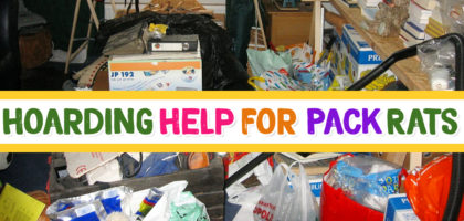 8 Decluttering Tips for Hoarders & Pack Rats – How To Clear the Clutter & Organize Your Home