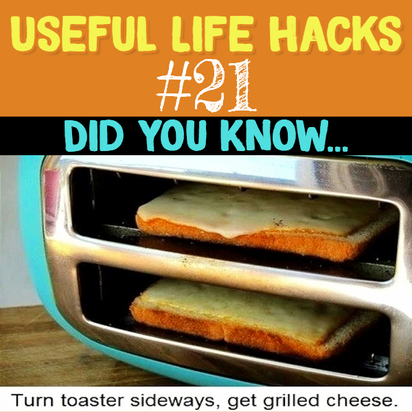 Mind Blown! Why didn't I think of doing this with my toaster? Useful life hacks to make life easier - household hacks... MIND BLOWN!
