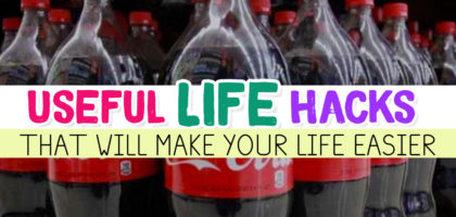 Useful Life Hacks {MIND BLOWN!} – 31 Good To Know Life Tips & Household Hacks That WILL Make Life Easier