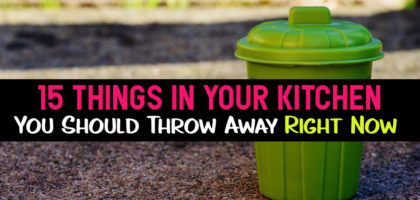Declutter Your Kitchen: 15 Kitchen Clutter Items To Throw Away Right Now