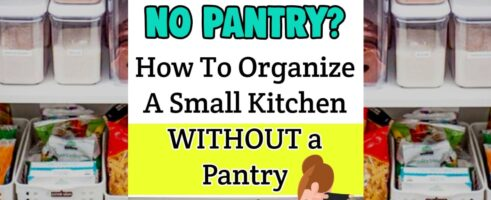 Pantry Alternatives-Solutions for a Small Kitchen with NO Pantry