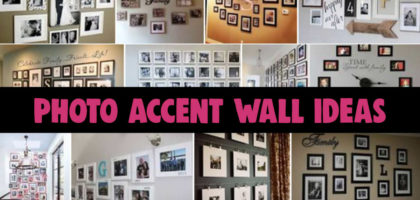 Photo Wall Ideas – 57 Picture Gallery Wall Layout Ideas For The Perfect Family Photo Accent Wall