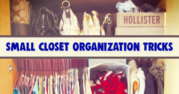 Small Closet and Too Much Stuff? Try These 35 Space-Saving Dorm Closet Organization Tricks