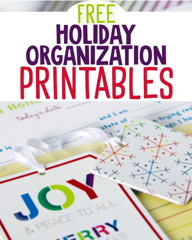 Christmas Planning Printables - Best FREE printable Christmas planners, organizers, gift lists, party planners and more