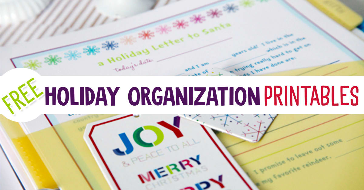 Best Free Christmas Planner Printables, Organizers & Checklists