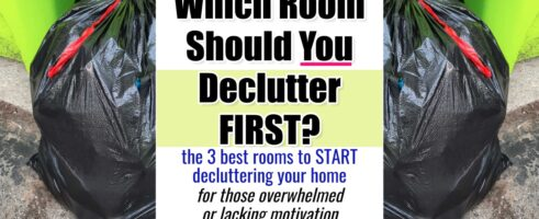 Which Room Should I Declutter First? The Best – and WORST – Room To START Decluttering In