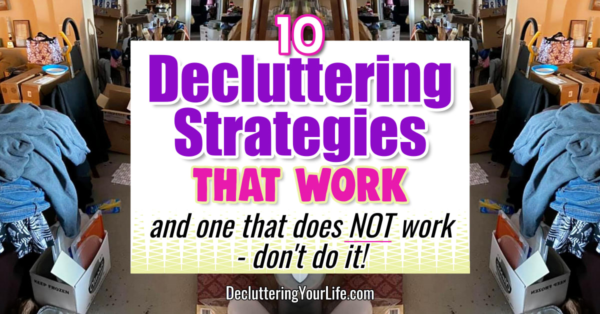 decluttering-strategies for decluttering your home that actually work