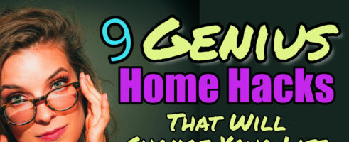 DIY Home Hacks – 9 Useful and GENIUS Home Hacks That WILL Improve Your Life