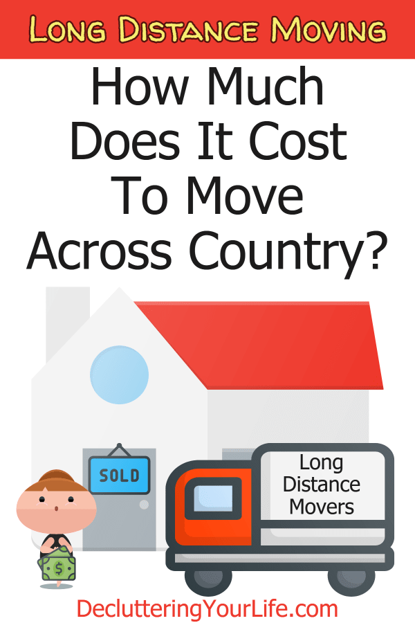 Long distance moving cost for moving across country. Approximate moving cost calculator for the average cost to move a 3 bedroom house, a 2,000 sq ft house or a 4-bedroom house, Free moving cost calculator to get average moving costs from long distance moving companies near me