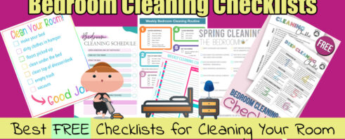 Bedroom Cleaning Checklists-Best *FREE* Printables & PDFs